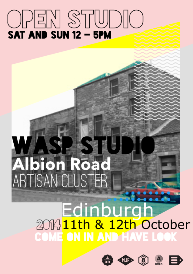 Open Studios at Albion Road 11th and 12th October