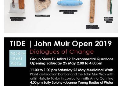 Jenny Pope, John Muir Open 2019, North Light Arts, Dunbar